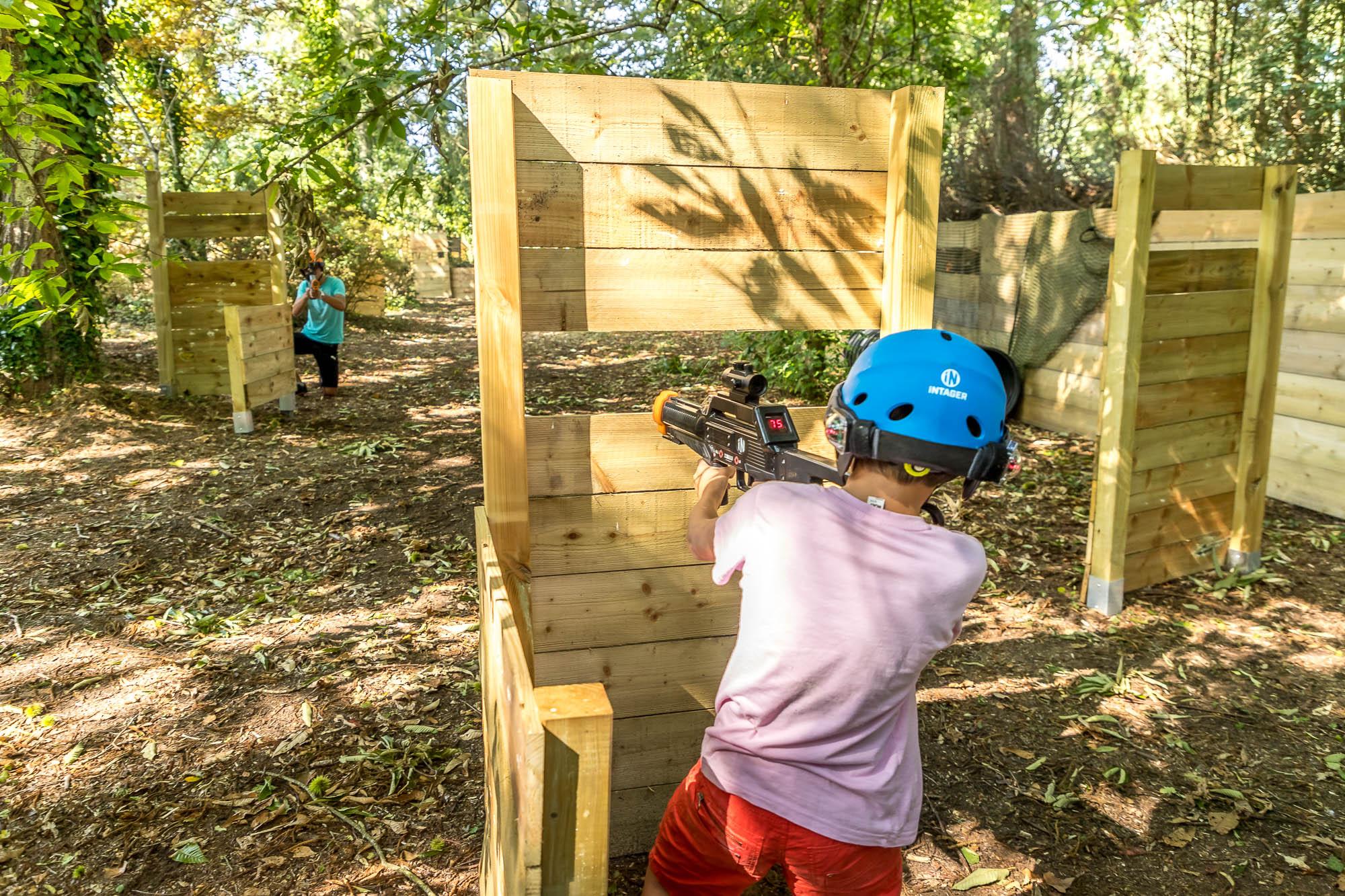 Laser Game à Bénodet à proximité de Quimper au Parc Accro Bat à Clohars-Fouesnant